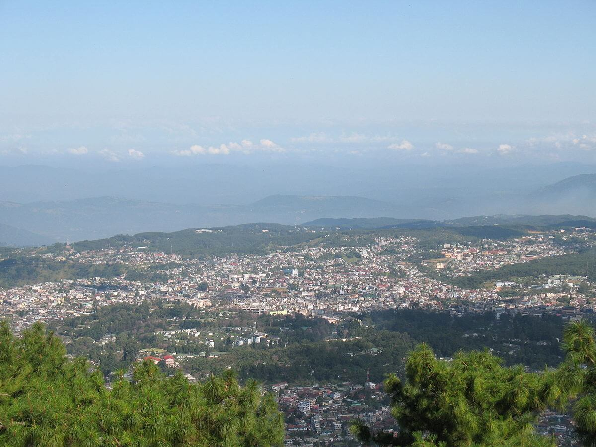 mountains of shillong