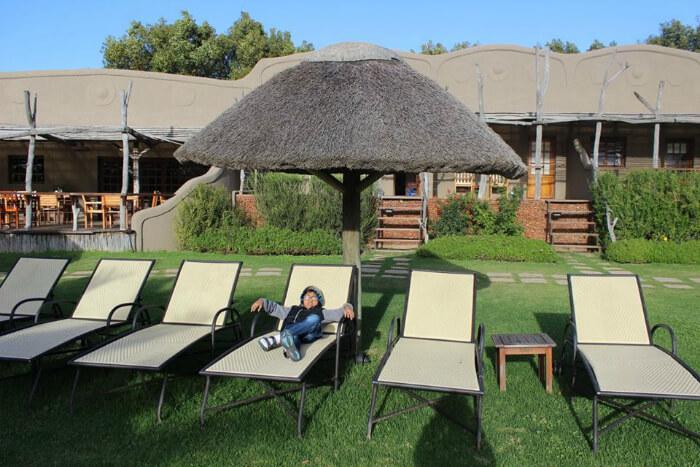 Relaxing in Hermanus