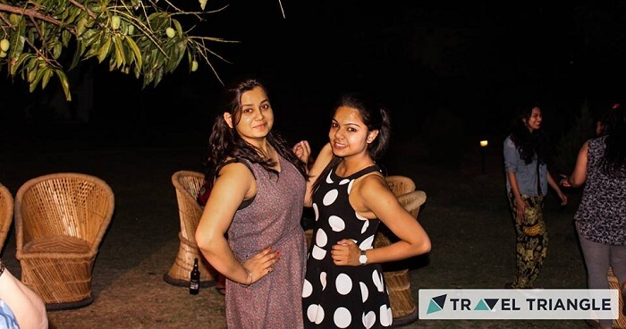 Girls party in Jim Corbett