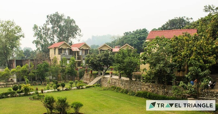 Myrica Resort in Jim Corbett