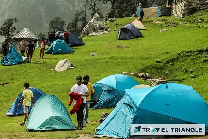 Camp in Triund