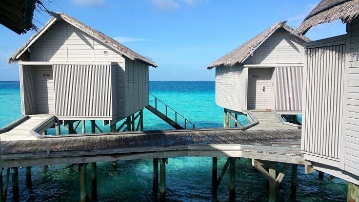 Centara Ras Fushi Water villa in Maldives