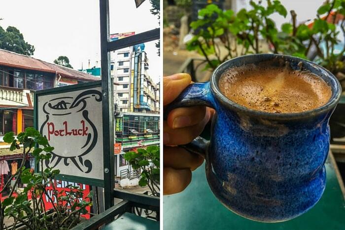 The quaint Cloud Street cafe in Kodaikanal