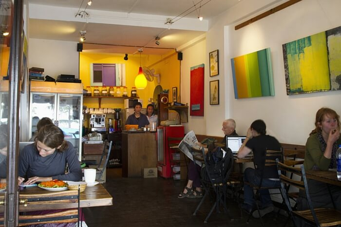 olks having some relaxing moments at Moonpeak Espresso