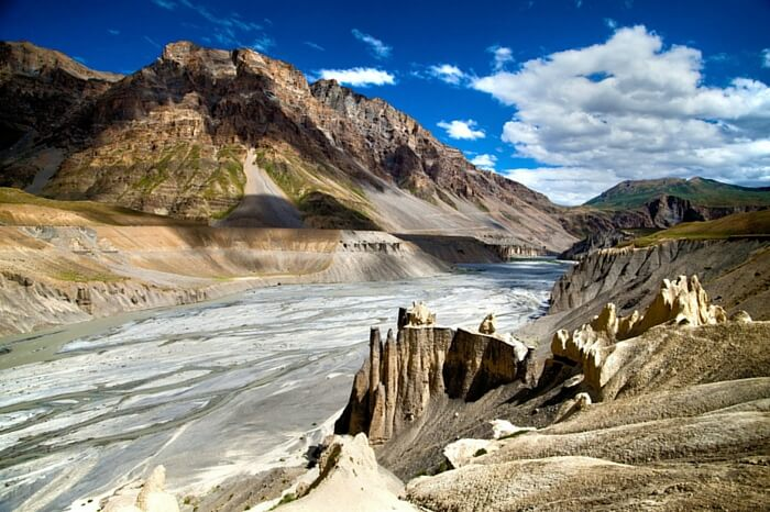 A view of the gorgeous Spiti Valley
