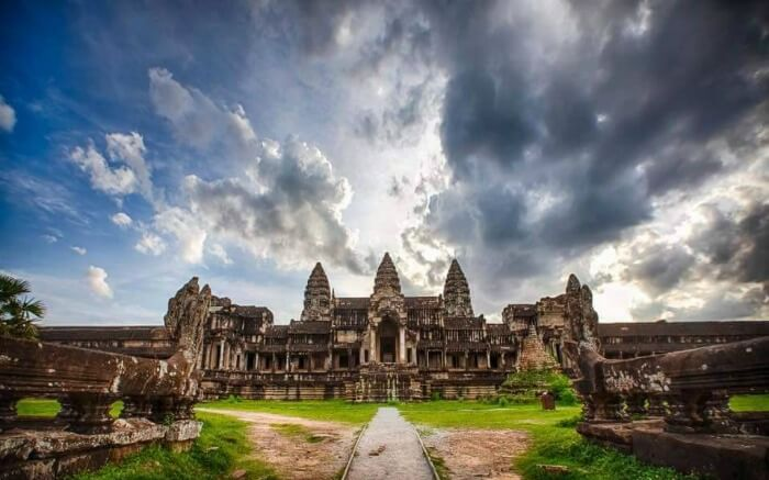 The ethereal beauty of the Angkor Wat temples in the ancient town of Cambodia