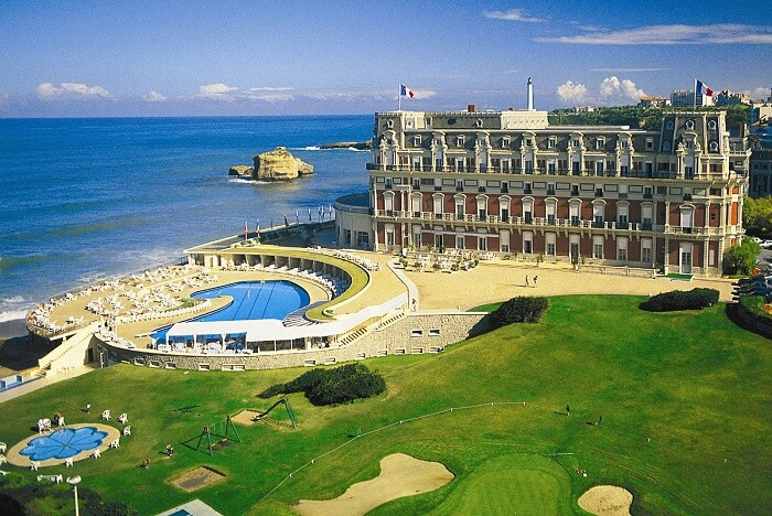 The beautiful city of Biarritz - one of the top summer destinations in France
