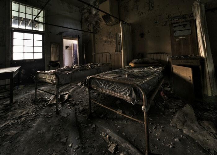 Scary abandoned hospital