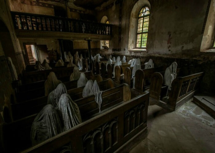 Haunted Church in Czech Republic