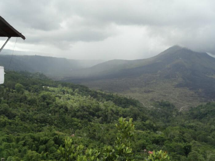 Volcano in Batur, Bali
