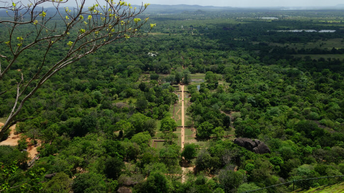 Breathtaking view of Sigiriya