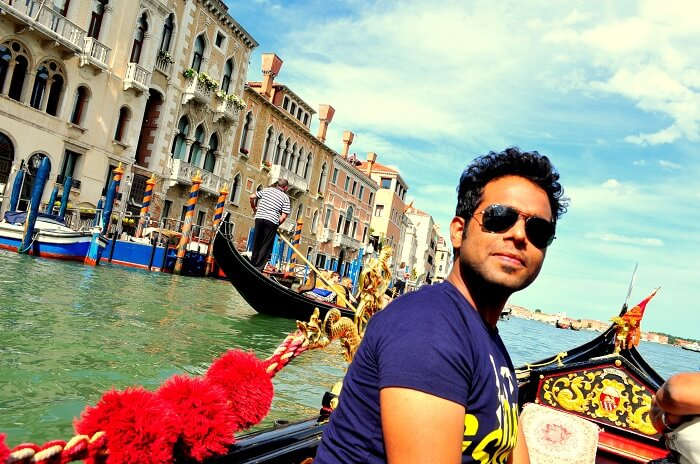 Sreshth during the Burano Tour
