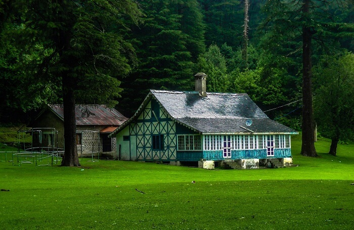 One of the stay options in Dalhousie