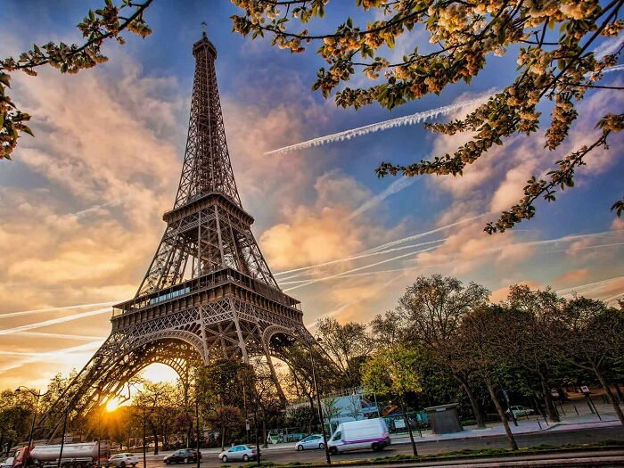 Eiffel Tower in Paris is the most famous tourist place in France