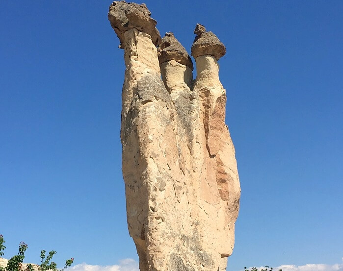 Beautiful Fairy Chimneys in Cappadocia