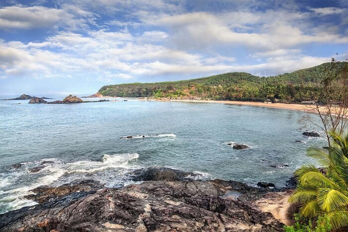 The beautiful beach of Gokarna is one of the best tourist places to visit in Karnataka