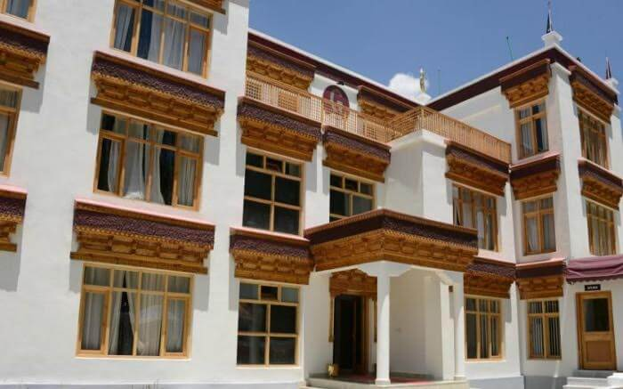 Facade of Gomang Boutique Resort In Leh Ladakh
