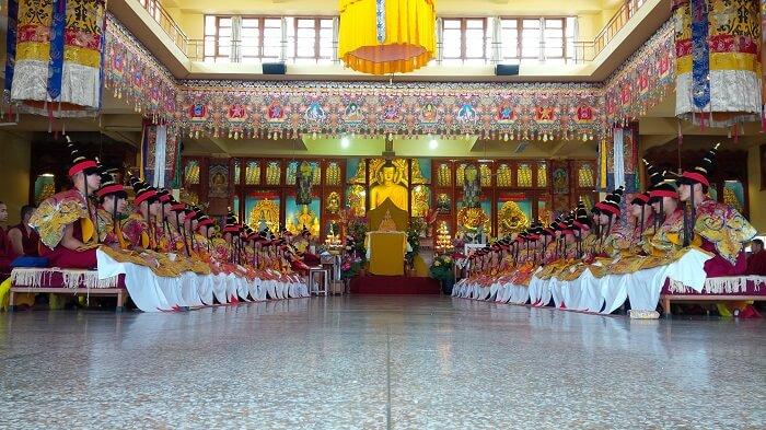 Gyuto Monastery in Dharamshala