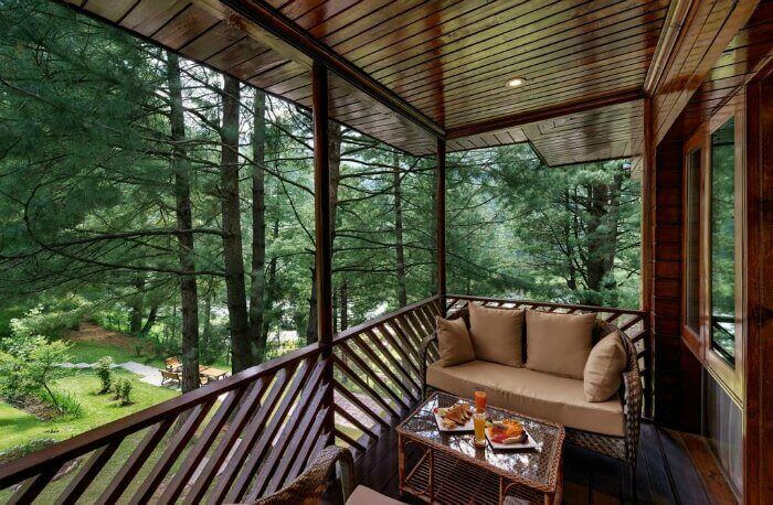 Monsoons at Senator Pine & Peak cottages in Kashmir