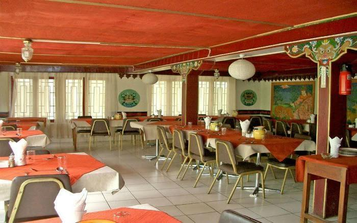 Restaurant of Hotel Shambhala