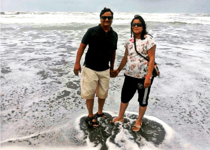 Family vacation in Goa