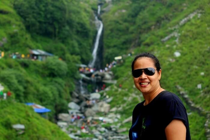 Aditi in Mcleodganj