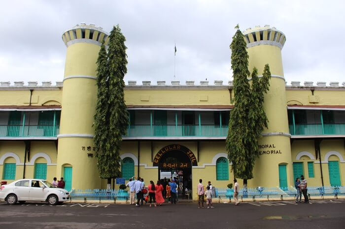 Entrance to Cellular Jail