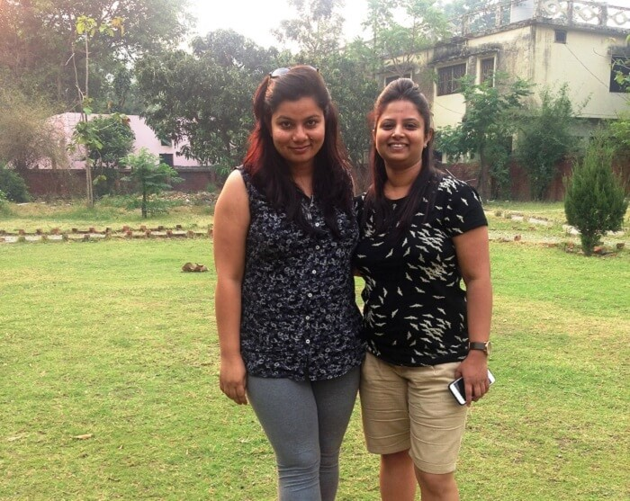 Anu and Payal in Jim Corbett