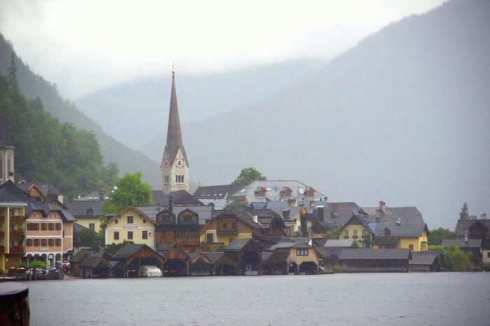 Mesmerizing Hallstatt village