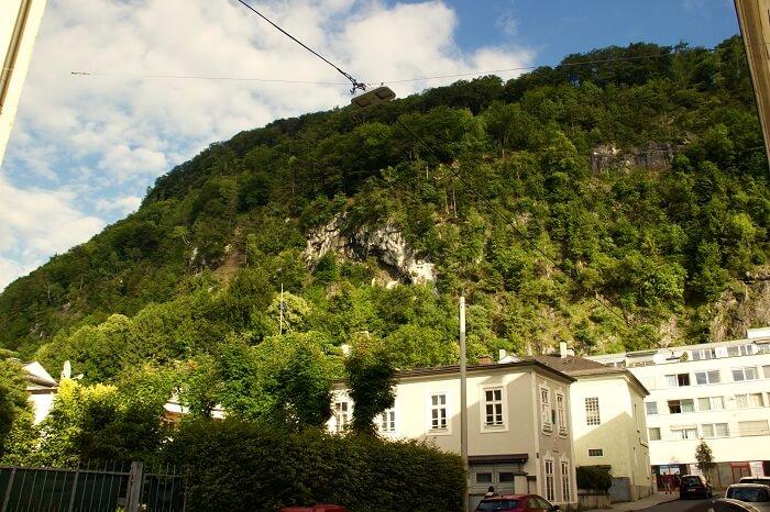 Enjoying the sights of Salzburg