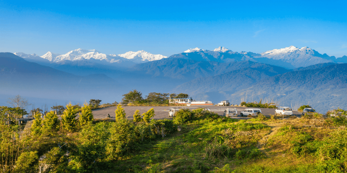 View of Kanchenjunga from Pelling