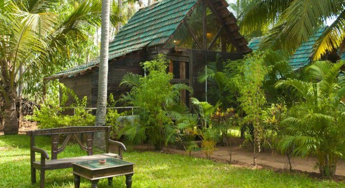 Laze around on the private beaches of the Leela Cottages in Goa this monsoon season