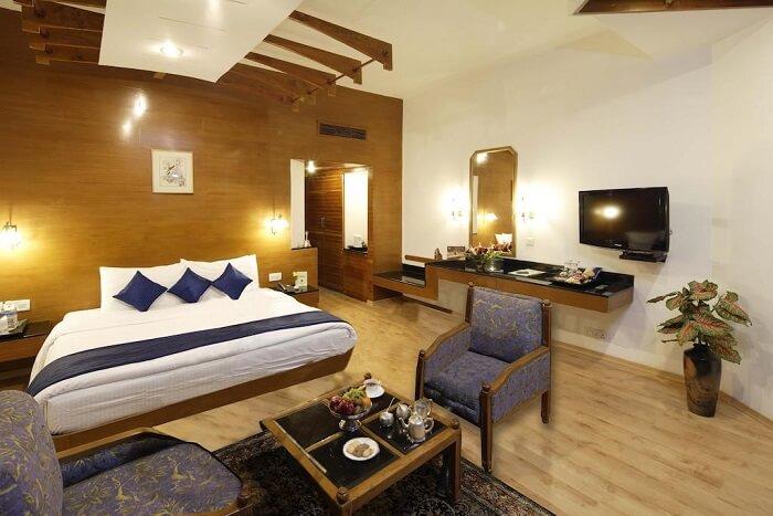 room view of the himachal resort
