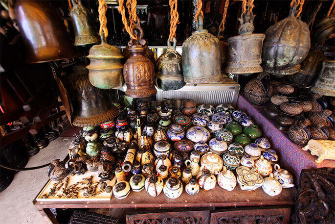 Buy betel nut boxes from the Old Market in Siem Reap, Cambodia, one of the best things to buy in Cambodia