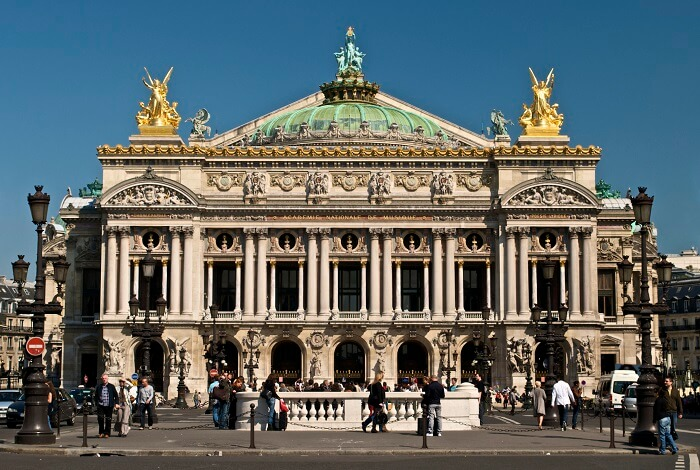 Palais Garnier is a famous opera house in Paris