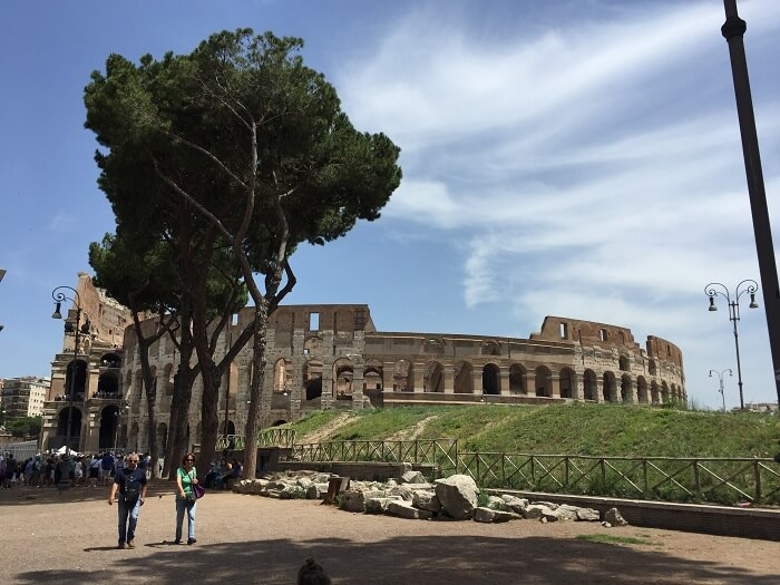 Sightseeing tour of the Colosseum