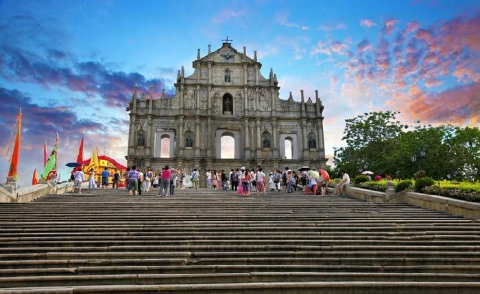 Ruins of St. Paul's is one of the best places to visit in Macau