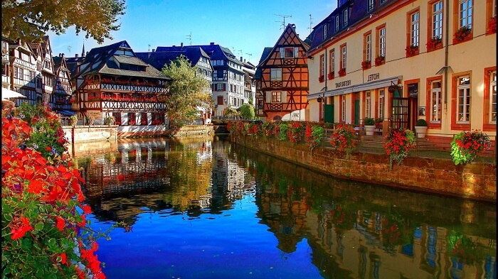 Cityscape of Strasbourg - one of the must-visit places in France