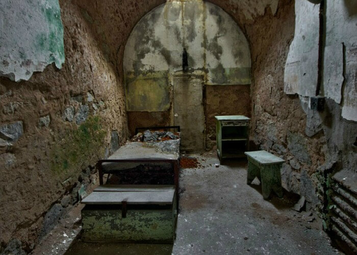 Deteriorated Jail Cells