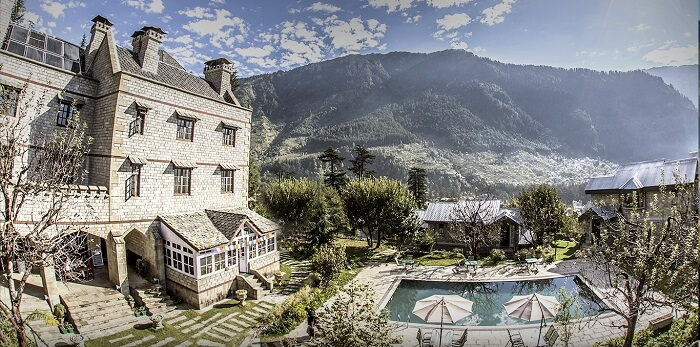 An amazing view of The Himalayan Spa Resort in Manali