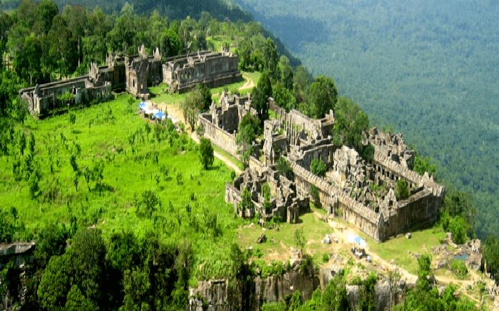 The Preah Vihear temple complex