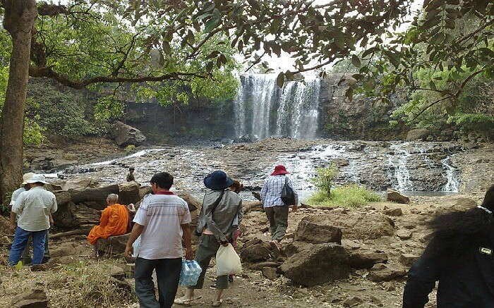 The Bou Sra Waterfall is one of the many scenic waterfalls in Mondulkiri