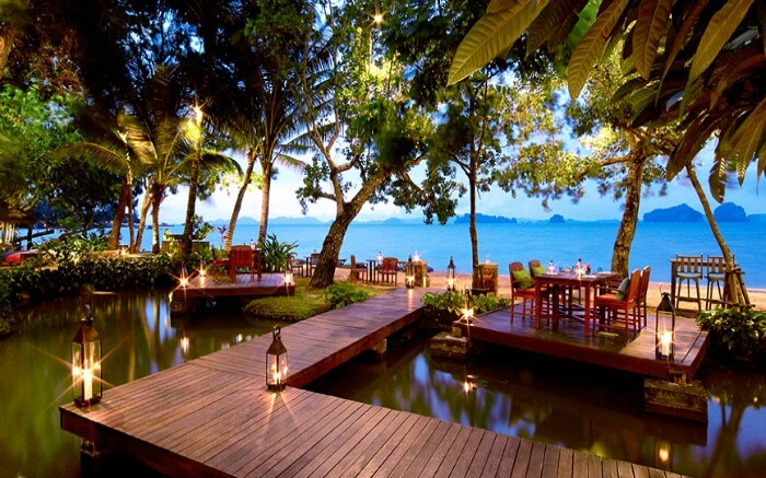 Tubkaak Krabi is one of the best hotels in Thailand