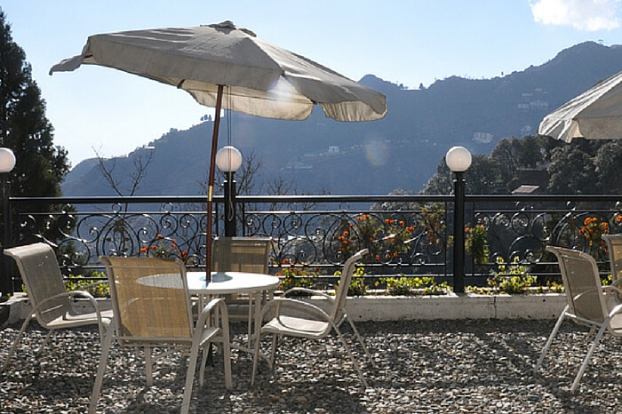 A pleasant morning as spotted from the Mussoorie Gateway resort