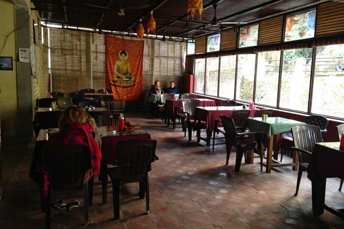 An interior view of Bistro Nirvana