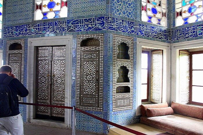 Baghdad room at Top Kapi Palace