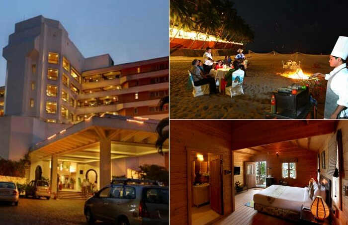 Many views from the Bogmallo Beach Resort in Goa