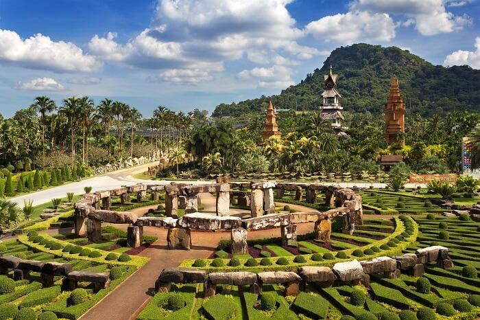 The Nong Nooch Garden in Pattaya