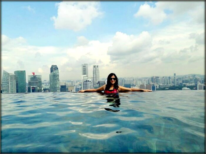 Srishti at the Marina Bay Sands hotel