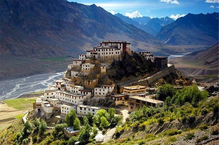 Ki Monastery in the Spiti Valley